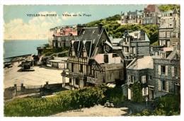 CPA  VEULES-LES-ROSES -- Villas Sur La Plage /29 - Veules Les Roses