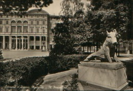 CARRARA PIAZZA MATTEOTTI VG. 1952 - Carrara