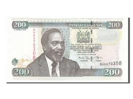 Kenya, 200 Shillings Type Arap Moi - Kenya