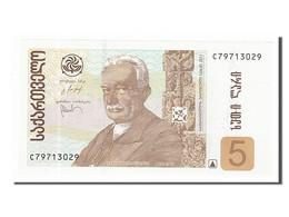 [#154978] Géorgie, 5 Lari Type Javakhishvili - Géorgie