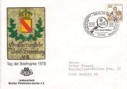 BPU 68/14  Tag Der Briefmarken 1978 - Landesverband Berliner Philatelisten E.V., Berlin12 - Berlin (West)