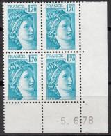 N° 1976 - Daté 05/06/78 - X X - - Ecken (Datum)
