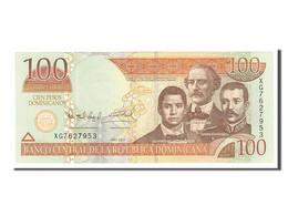 [#154950] République Dominicaine, 100 Pesos Dominicanos Type Sanchez, Duarte Et Mella - Dominicaine