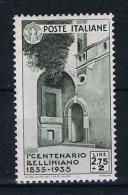 Italy: 1935 Mi 537 ,  Sa 393  MH/* - 1900-44 Vittorio Emanuele III