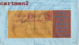 THAÏLANDE AEROGRAMME BANGKOK EXHIBITION SUAN AMPHORN AUDITORIUM 1983 STAMP TIMBRE ENTIER THAÏLAND - Thaïlande