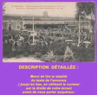 Cpa : PERPIGNAN, Fêtes Du Centenaire Des Platanes, Musique Garde Républicaine à La Gare1910. Voir Description Détaillée - Perpignan