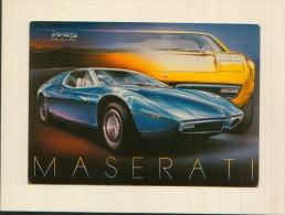 MASERATI BORA - Postcards