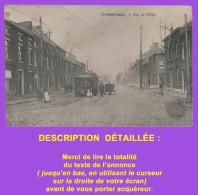 Cpa : CHÂTELINEAU - Rue De Gilly. Tramway. Animation. Non Datée.Voir Description Détaillée. - Châtelet