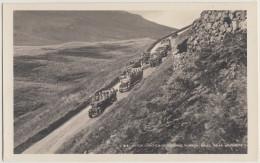 Grasmere: 7x  CHARABANC / Oldtimer Autobus/Coach - Motor Coaches Descending Dunmail Raise  -  (Cumbria) - U.K. - Busse & Reisebusse