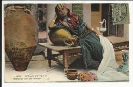 Mauresque Dans Son Intérieur , 1920 - Algérie