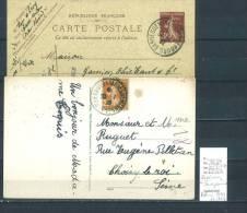 Lettre Cachet  Ambulant  Sarrebourg à Sarreguemines -Alsace -L - Indice 8 Et 7- 2 Piéces - Postmark Collection (Covers)