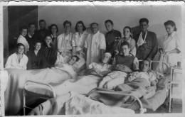 Macedonia,Bitola,hospital,English POWs,august 1941,back Side - Names Of Prisoners,VERY RARE,photo PAPAKOCH - War 1939-45
