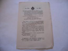 ANCONA FALCONARA TRAMVIA ELETTRICA STAZIONE FERROVIARIA REGIO DECRETO 1914 - Décrets & Lois