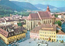 Brasov, Romania Postcard Used Posted To UK 1981 - Romania