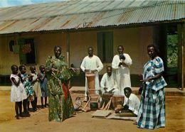Muganda Dancers, Uganda Postcard #1 - Uganda