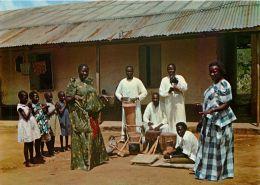 Muganda Dancers, Uganda Postcard #2 - Uganda
