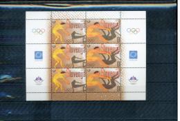 Slowenien / Slovenia 2004 Olympic Games Athens Kleinbogen / Sheet Postfrisch / MNH - Estate 2004: Atene