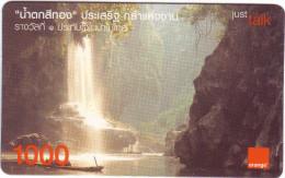 """Carte Recharge """"PRIVILEGE"""" Orange Thaïlande 1000 Utilisée   QualitéLUXE****N° Lot :020503963290177725 - Thailand"""
