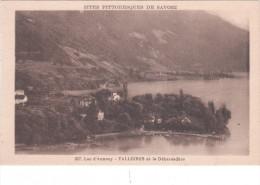 Carte Postale Ancienne De Haute Savoie - Lac D´Annecy - Talloires Et Le Débarcadère - Talloires