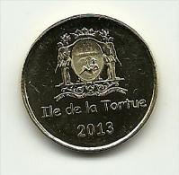 2013 - Isola Di Tortuga 1 Escalin, - Monete