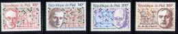 Echecs Joueurs Celebres Serie Neuve  Mali 1979  Y:A366/369 Cote/value:10€ Chess Series MNH - Echecs