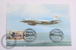 Airline Transport, Airship Spantax  - Convair CV 990 A Coronado - Circulated - Dirigibili