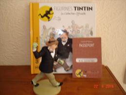 EDITION MOULINSART   GIBBONS LA BRUTE DANS TINTIN ET LE LOTUS BLEU - Tintin
