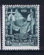 Italy: 1938 Mi 612 ,  Sa 447  MNH/** - 1900-44 Victor Emmanuel III.