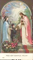 Devotie - Prentje Jesus Met Communiekant - Hoc Est Corpus Meum - Images Religieuses