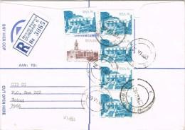 8018. Carta Certificada DURBAN (South Africa) RSA 1983 - África Del Sur (1961-...)