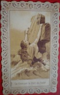 """- LA CROIX EST LE PORT DU SALUT- PUB AU DOS """" FARINE LACTEE DIASTASEE  SALVY """" - Devotion Images"""