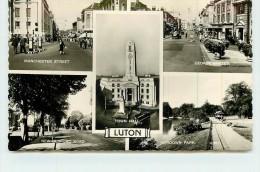 LUTON  -  Carte Multivues De La Ville. - Non Classés