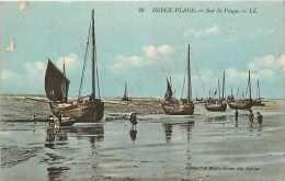 Pas De Calais - Ref A416 - Berck Plage - Sur La Plage   -  Bateaux   - - Berck