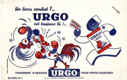 BUVARD  -   PENSEMENT D URGENCE  -  URGO  -  DIJON    -  DIM / 21 X 13 CM - Produits Pharmaceutiques