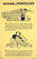 BUVARD  -HISTOIRE DU POSTILLON  -  DIM / 21 X 13 CM - Blotters