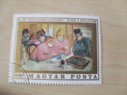 "Ungarn / Hungry  1969    Mi. Nr. 2507   O / Gestempelt     "" Gemälde Französischer Meister "" - Hongrie"