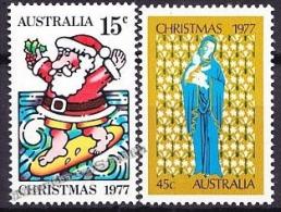 Australia 1977 Yvert 622-23, Christmas - MNH - 1966-79 Elizabeth II