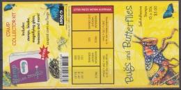 Australia - Australie 2003 Booklet Yvert C-2155, Bugs & Butterflies, Insects - MNH - Boekjes