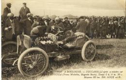 CPA (sport Automobile)    A BOULOGNE ZUCCARELLI Apres Sa Victoire Sur Hispano Suiza - Unclassified