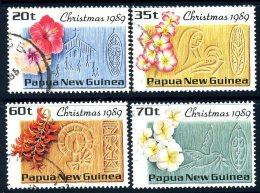 Papua New Guinea 1989 Christmas Set Of 4, Fine Used (C) - Papua-Neuguinea