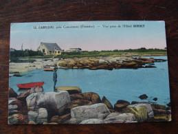 CPA LE CABELLOU Vue De L'hotel BORNEY - Concarneau