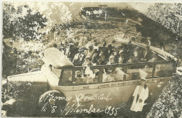 MONACO MONTE CARLO AUTOBUS SEPTEMBRE 1935 PLM PHOTOGRAPHE GENELOT MONTPELLIER - Monaco