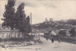 23579 Laon - Vue Générale Prise Du Faubourg De Saint Marcel
