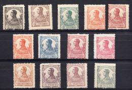 GUINEA 1912. EDIFIL Nº  85/97.ALFONSO XIII  NUEVO  SIN   CHARNELA  SES726 - Guinea Española