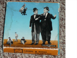 "Rare bobine film Super 8 mm Film Office ""Laurel et Hardy volontaires"" S8mm"