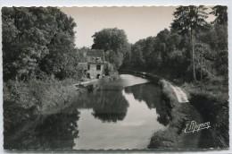 CPSM 45 DORDIVES LE MOULIN DE NANCAY ET LE CANAL DU LOING - Dordives