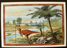 GAMBIE Prehistoire, Animaux Prehistoriques, YVERT  BF  243 **  MNH Neuf Sans Charniere (3) - Prehistorisch