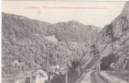 23586 LAISSEY - Percée De Champlive Et Ligne Du Chemin De Fer - Sans Ed - Chemins De Fer