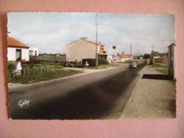CPSM SAINT NICOLAS DE BREM N°32  ROUTE DES SABLES - ECRITE EN 1966 - Frankrijk