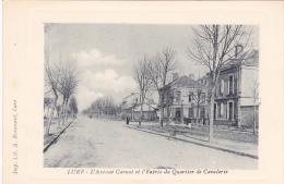 23593 Lure L´Avenue Carnot Entrée Quartier Cavalerie -imp Lib Ecrement - Facon Gravure - Lure
